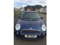 MINI ONE FOR SALE with FREE private registration