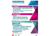 Wireless tickets Multidays and single days!!GET AT ME!