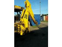 Jcb back ackter for spares or repair