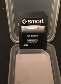 SMART CAR SD CARD SATELLITE NAVIGATION FULL EUROPE