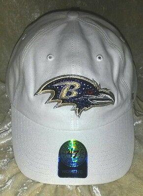 Baltimore Ravens Womens Hats - Baltimore Ravens Womens Sparkle 47 Brand Rhinestone Bling NFL Cap Hat ~NEW~