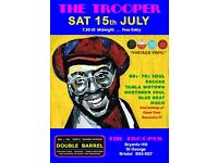 SATURDAY 15th JULY - 60s 70s SOUL / REGGAE / MOTOWN / DISCO with DOUBLE BARREL - ST GEORGE
