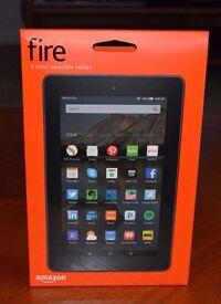 Amazon Kindle Fire 7 Inch HD 16GB Wi-Fi Tablet 5th Gen New 2016 Black