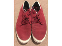 Adidas Red Originals Shoes - size 10