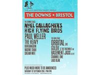 1 BRISTOL DOWNS FESTIVAL TICKET