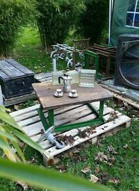 Retro Industrial Coffee Table