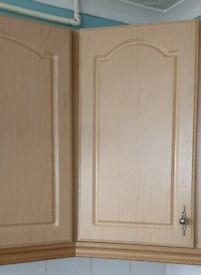13 x kitchen cupboard doors for sale