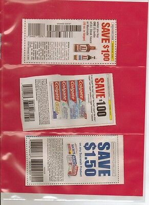 25 3 POCKET COUPON SLEEVE PAGES STORAGE ORGANIZE
