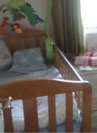 Cot and mattress. Price negotiable