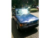 Classic 1989 Ford Escort Zetec unfinished project