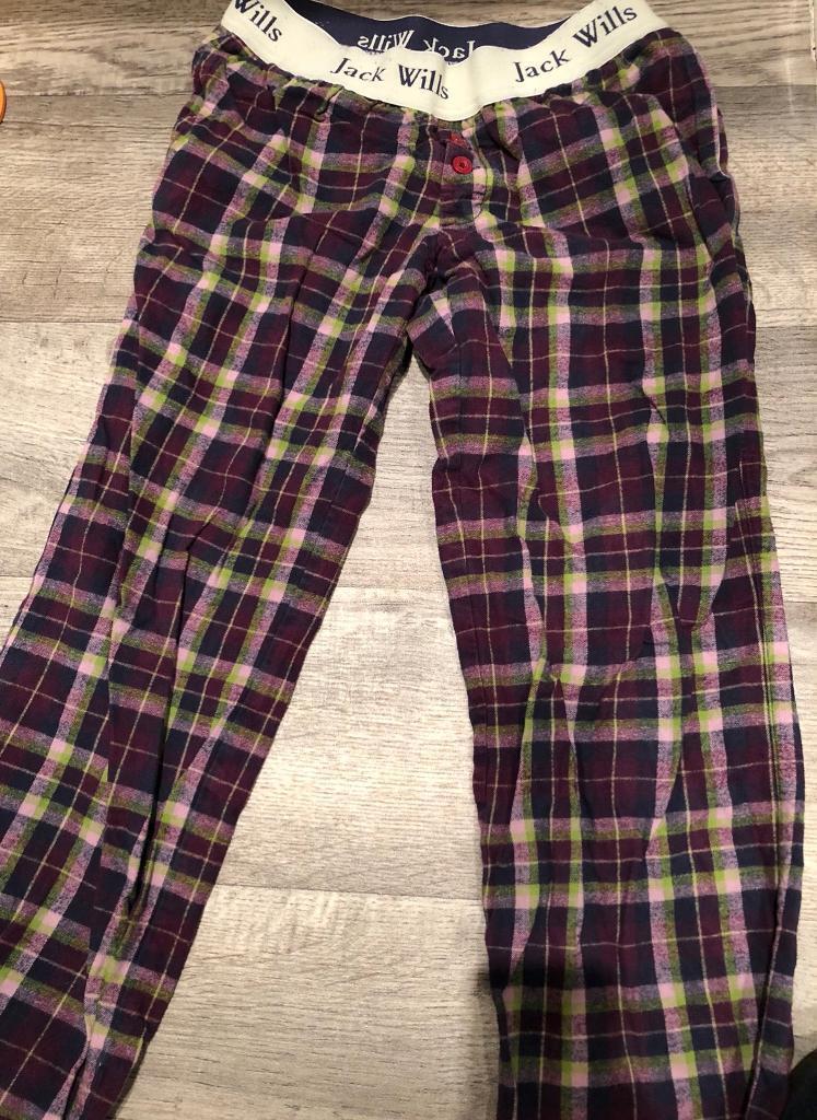Jack Wills pyjama bottoms shorts x 2
