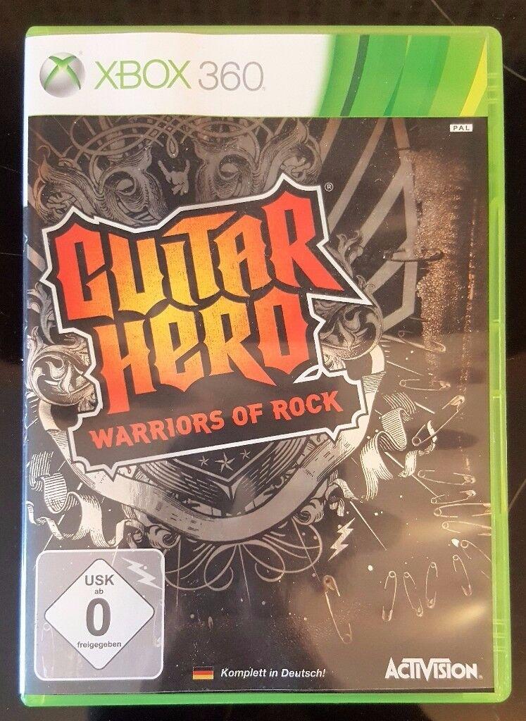 XBOX 360 Guitar Hero: Warriors of Rock [EU]