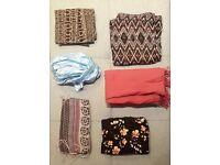 Set of 6 scarves