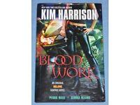 Kim Harrison 'Blood Work' Hardback Graphic Novel