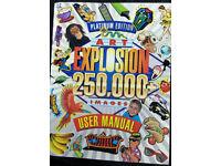 Art Explosion Clip Art Book + 20 Cds