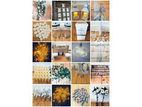 DIY / Blank Canvas Wedding Decor Package Joblot - £200 ONO