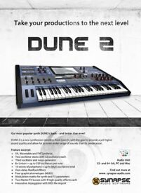 Dune 2 Software Synth Plugin