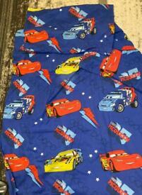 Cars toddler bedding