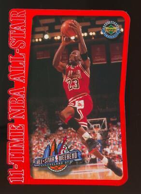 1997 Upper Deck All Star Limited Edition Jumbo Die Cut Michael Jordan 553/5000
