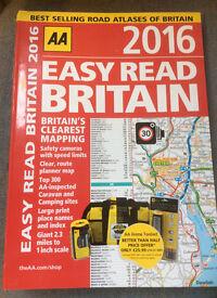 AA Easy read Britain 2016 atlas