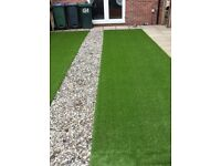 SLABBING / FENCING / TURFING / FAKE LAWNS / DECKING / TOTAL GARDEN RENOVATIONS CALL 07733 696849 .