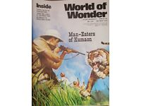 Vintage 1970's 'World of Wonder' magazine edition number 216.