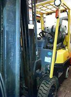 3500 lb. Propane Forklift.