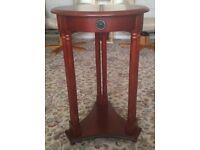 Lamp table mahogany