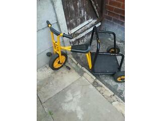 Rabo chariot bike age 3 upwards