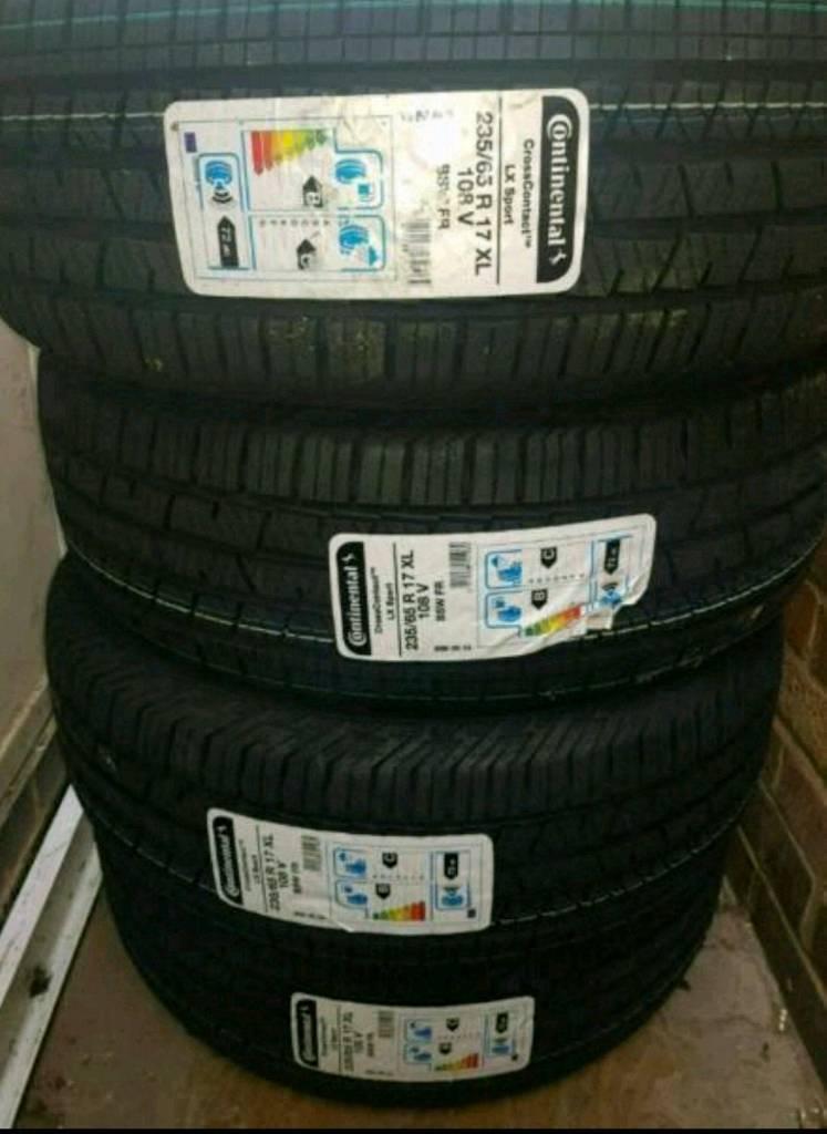 Tyres 235/65 R 17 XL 108 V.