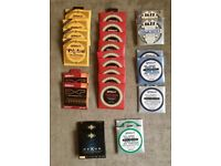 Various Guitar strings mostly D'addario but also some ultra rare D'aquisto flat wound jazz strings