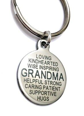 GRANDMA Necklace or KEY CHAIN Your Choice GREAT Gift - US Seller FREE SHIP