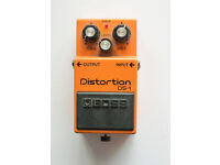 Boss Distorsion DS-1 guitar effects pedal