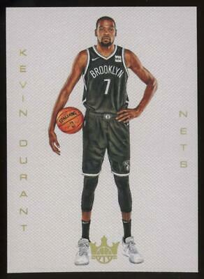 2019 Panini Court Kings Blank Slate #35 Kevin Durant SP Case Hit