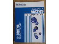 National 4 Maths Student Book