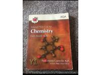 AQA AS-level chemistry textbook
