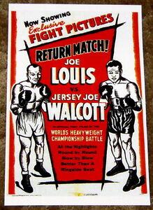 Joe Louis vs. Jersey Joe Walcott 1948 Heavyweight Title Fight