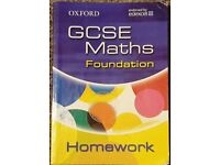 Oxford GCSE Maths for Edexcel: Foundation Homework Book by Claire Turpin...
