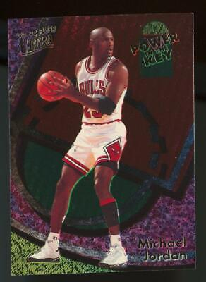 1994 Fleer Ultra Power In The Key #2 Michael Jordan