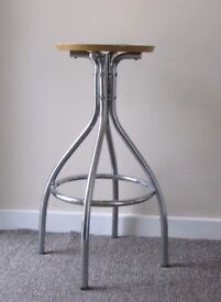 Retro style breakfast bar stool chair operator's style boutique display props FREE DELIVERY