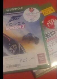 Forza Horizon 3 and STEEP Xbox One Games