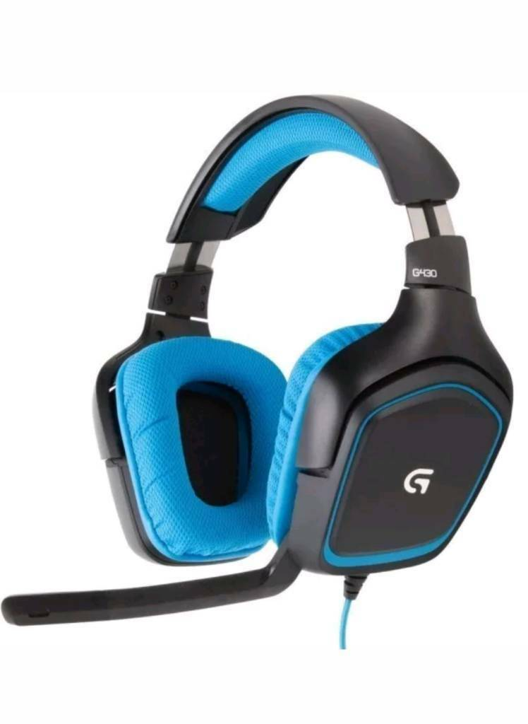 Logitech G430 Gaming Headset with 7 1 Dolby Surround for PC, PS4, Xbox One  | in Culcheth, Cheshire | Gumtree
