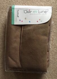 Clair De Lune Foot Muff Cosy Toes New Unused In Packing Sand Colour