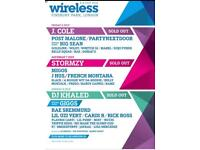 SOLD OUT FRIDAY WIRELESS TICKETS (6th of July)!!