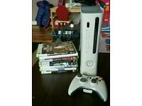 Xbox 360 60gb & games bundle