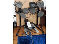 Yamaha DTX450K Electric Drum Kit. Good condition.