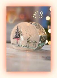 Reindeer & Tree Tealight