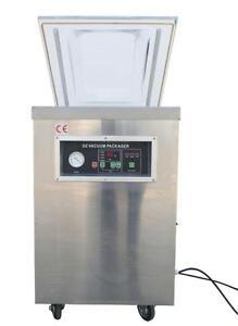 110V 500mm Sealing Bar Single Chamber Vacuum Packaging Machine #160809