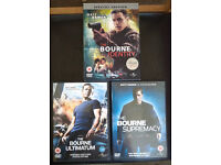 DVDs: Bourne Identity / Bourne Supremacy / Bourne Ultimatum