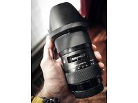 Sigma 18-35 1.8 Canon mount, Perfect Condition